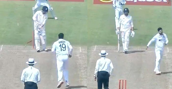 WATCH: Umesh Yadav bowls a brilliant delivery to dismiss Will Rhodes – County Select XI vs Indians