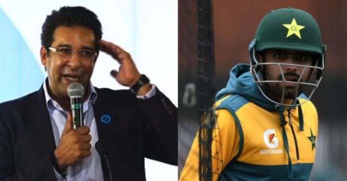 Wasim Akram comes up with a piece of advice for Babar Azam to improve his batting
