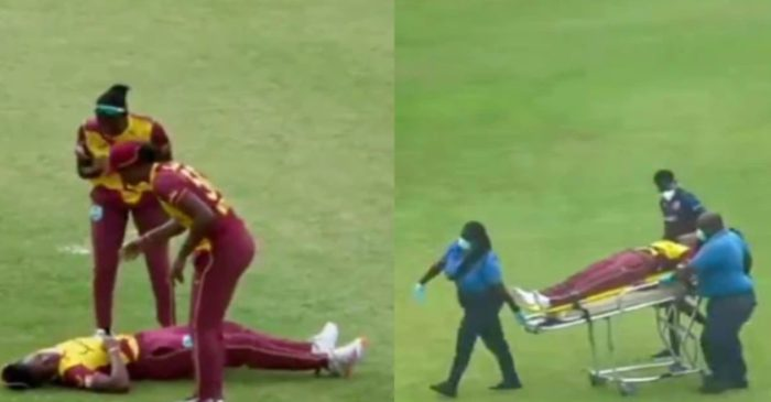 WATCH: Two West Indies Women cricketers collapse on the field during 2nd T20I against Pakistan Women