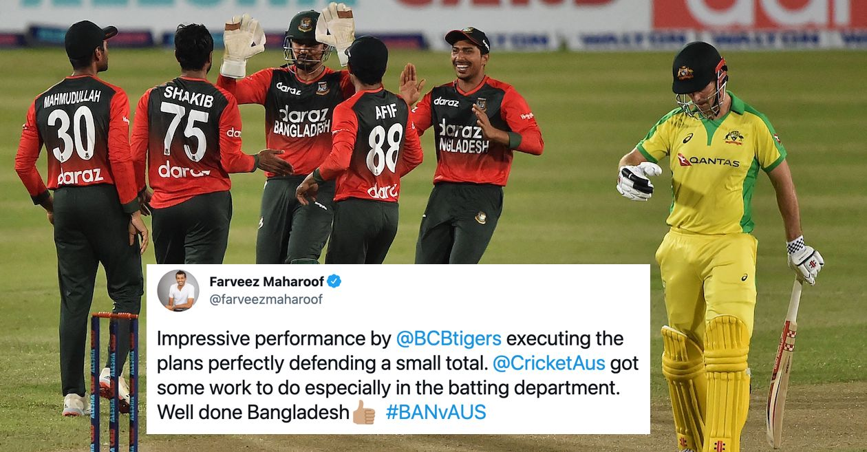 Twitter reactions: Bangladesh register their first-ever T20I win over Australia