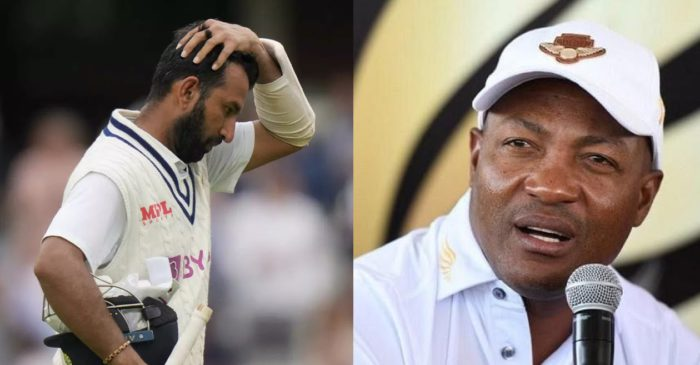 Cheteshwar Pujara should try to score at a strike rate that is more beneficial to him and the team: Brian Lara