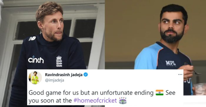 Twitter reactions: Persistent rain force England and India to settle for a draw in Trent Bridge Test