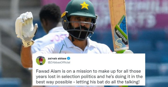 Twitter reactions: Fawad Alam's brilliant century puts Pakistan ahead of West Indies in 2nd Test