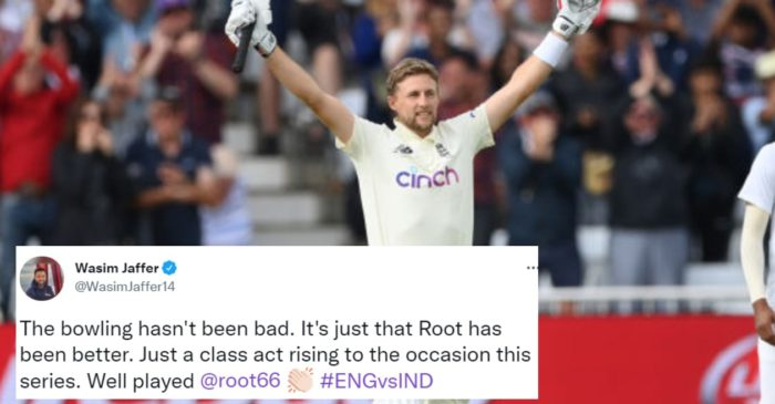 ENG vs IND: Twitter erupts as Joe Root hit his 22nd century in Test cricket