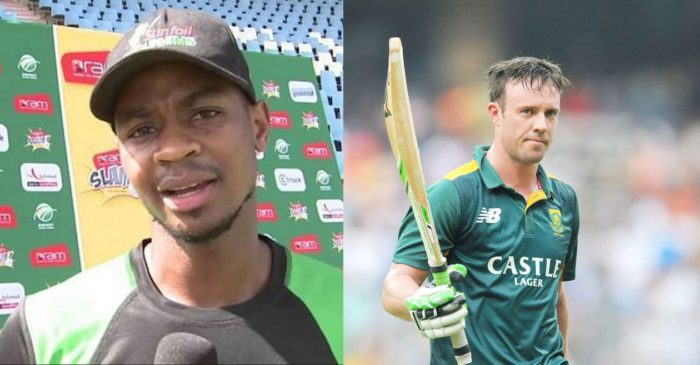 Khaya Zondo reveals why he 'lost respect' for his cricketing hero AB de Villiers