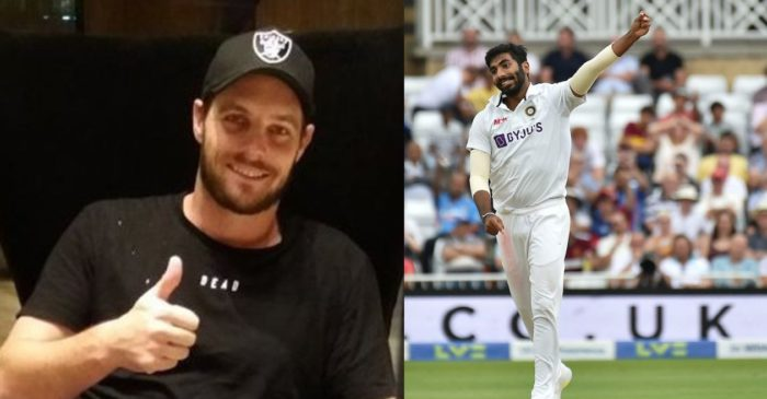New Zealand pacer Mitchell McClenaghan takes a dig at Indian speedster Jasprit Bumrah