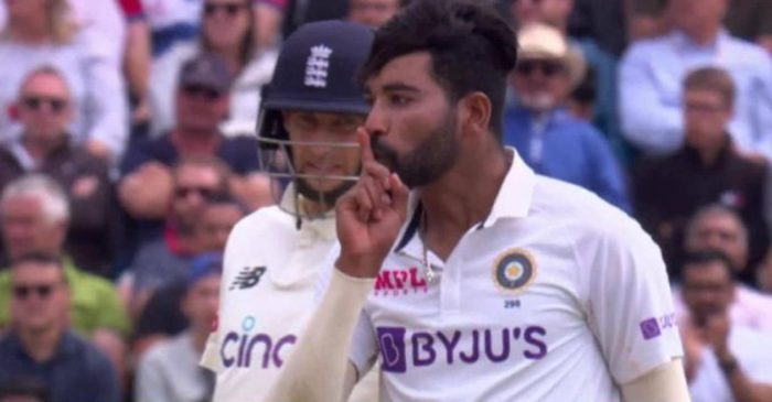 WATCH: Mohammed Siraj gives a 'silent' send-off to Jonny Bairstow on Day 4 of Trent Bridge Test