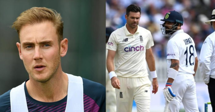 ENG vs IND: Stuart Broad reacts to Virat Kohli's verbal altercation with James Anderson in Lords Test