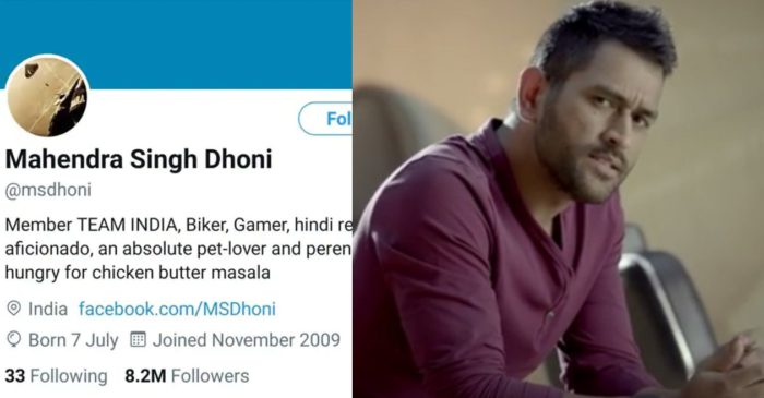 Twitter restores MS Dhoni's 'deleted' blue tick; explains the reason behind it