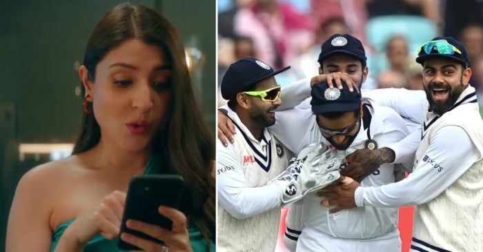 ENG vs IND: Anushka Sharma reacts on India's historic win over England at the Oval