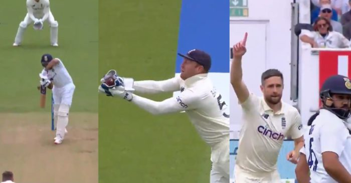 ENG vs IND 2021: WATCH – Chris Woakes dismisses Rohit Sharma with a jaffa on Day 1 of Oval Test