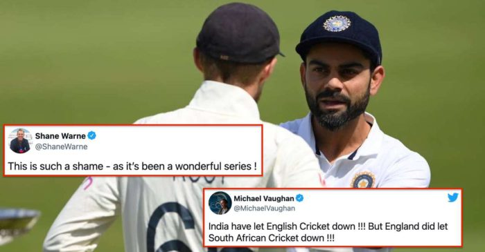ENG vs IND: Cricketing world reacts after the cancellation of Manchester Test