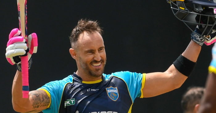 CPL 2021: Faf du Plessis' scintillating century sets up massive win for St Lucia Kings