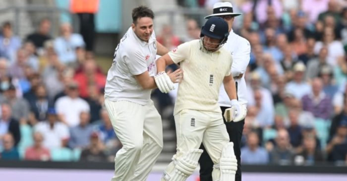 ENG vs IND: Jarvo arrested on the suspicion of assault after colliding with Jonny Bairstow at The Oval
