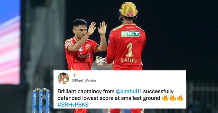 Punjab Kings defends the lowest total in Sharjah to knock Sunrisers Hyderabad out of IPL 2021