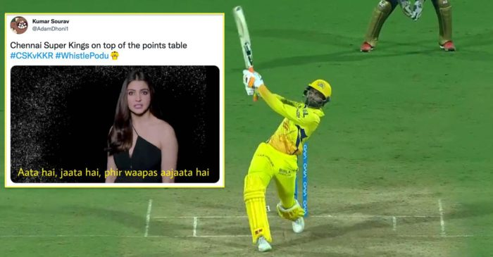 IPL 2021: Twitter erupts as CSK reclaim top position with a thrilling win over KKR