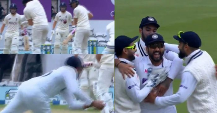 ENG vs IND: WATCH – Rohit Sharma takes a stunner to dismiss Dawid Malan on Day 2 of Oval Test
