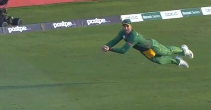 T20 World Cup – WATCH: Aiden Markram takes a spectacular diving catch to dismiss Steve Smith