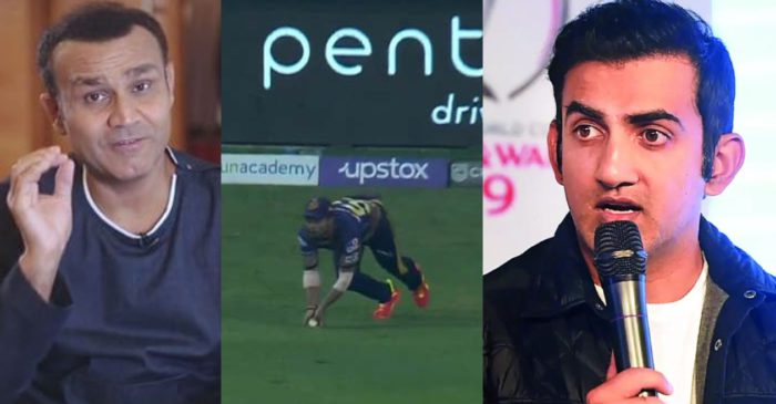 IPL 2021: Cricket fraternity reacts after Rahul Tripathi's disallowed catch off KL Rahul in PBKS vs KKR clash