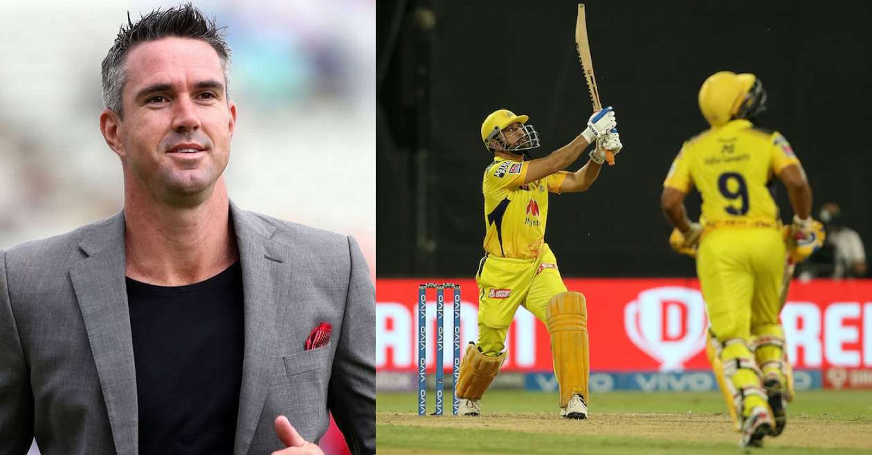 IPL 2021: Kevin Pietersen, Sunil Gavaskar react after MS Dhoni finishes match against SRH with his trademark six