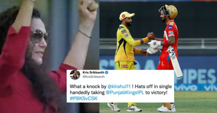 Twitter Reactions: KL Rahul inspires PBKS to hand CSK their third consecutive loss of IPL 2021