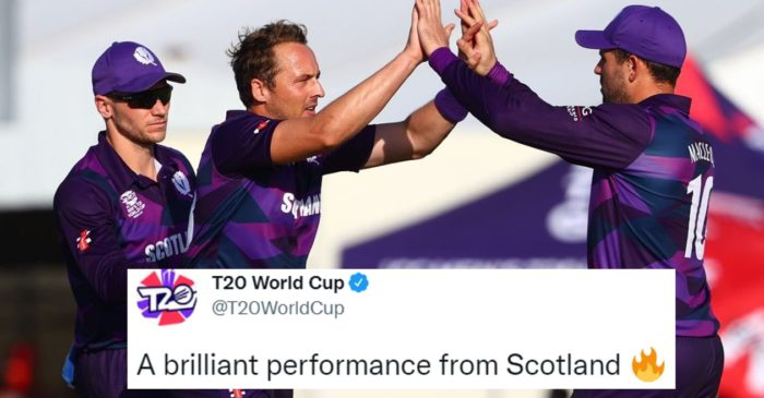 T20 World Cup 2021 [Twitter reactions]: Scotland beat PNG for 2nd win in a row; inch closer to Super-12 stage