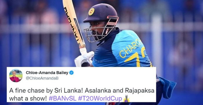Twitter reactions: Charith Asalanka blows Bangladesh away in Super 12 fixture of T20 World Cup 2021
