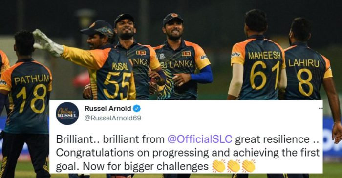 T20 World Cup 2021: Twitter erupts as Sri Lanka thrash Ireland to qualify for Super 12 stage
