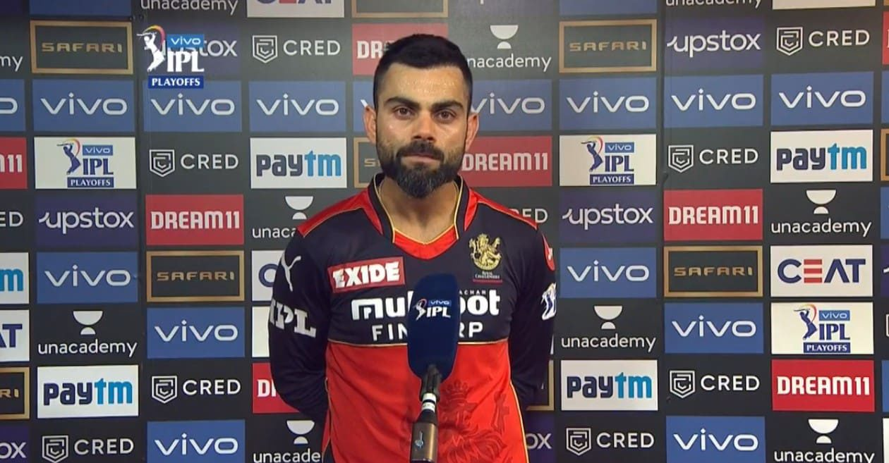 Virat Kohli throws light on his future with RCB after being knocked out of IPL 2021