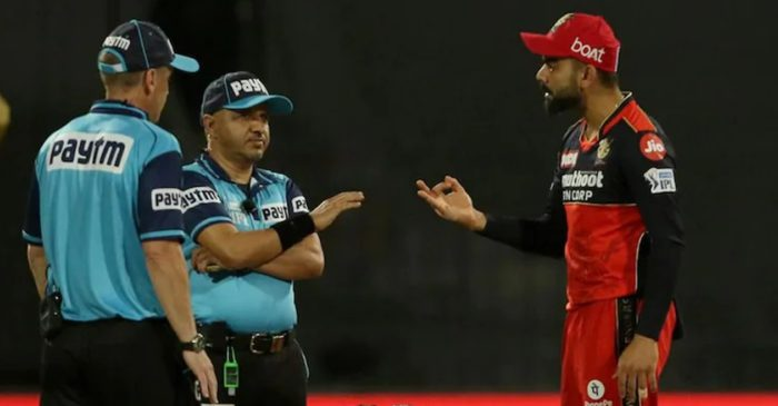 IPL 2021 – WATCH: Furious Virat Kohli argues with umpire after various decisions overturned in RCB-KKR clash